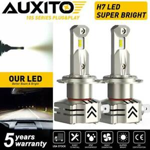 AUXITO 6000K LED Headlight Low Beam H7 24000LM Super Bright Bulb Kit Fit for BMW