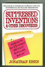 Suppressed Inventions & Other Discoveries, 2001  Perigree 1st Ed. Jonathan Eisen