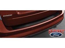 2011 thru 2014 Edge OEM Genuine Ford Parts Black Rear Bumper Protector with Logo