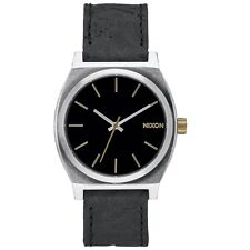 Nixon A0452222 Time Teller Black Brass Men's Analog Watch