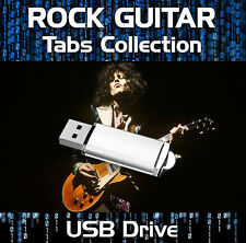 ULTIMATE ROCK GUITAR TAB COLLECTION TABLATURE SONG BOOK SOFTWARE USB LIBRARY