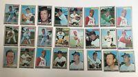Lot of Twenty Topps 1970 Baseball Cards