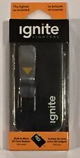 5 Ignite E-Data Rechargeable USB Lighters with Integrated Micro SD Card Reader