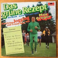 Max Greger, Das Grüne Rezept, Polydor, Vinyl, LP
