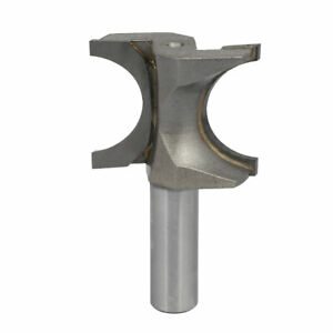 1/2-inch Straight Shank 1-inch Bead Dia Bull Nose Half Round Grooving Router Bit