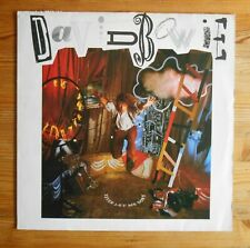 Never let me down, Bowie, LP EMI Records 1987, with OIS