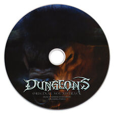 """DUNGEONS"" PC Game Soundtrack CD [Stand-alone CD, as issued] *RARE!* (2011) NEW"