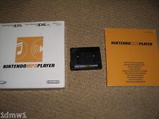 NINTENDO DS LITE GAMEBOY ADVANCE MICRO OFFICIAL MP3 PLAYER ADAPTER CARTRIDGE Bxd