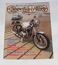 CLASSIC BIKE NOVEMBER 1983 - 500CC TRIUMPH ADVENTURER/925CC RGB WESLAKE