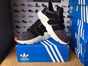 """Men's Adidas""""PROPHERE""""Trainers Size UK 8-EU 42 Black-Red NEW"""