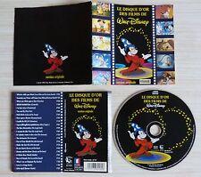CD album LE DISQUE D'OR DES FILMS DE WALT DISNEY 23 TITRES VO