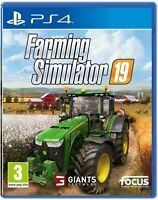Landwirtschafts-Simulator 2019 19 (PS4 PlayStation 4) (NEU & OVP) (Blitzversand)