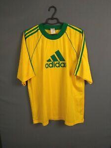Adidas Jersey XL Mens Football Soccer Camiseta Trikot Vintage Retro Shirt ig93