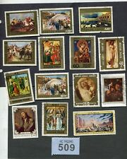 Lot  stamps  of  art