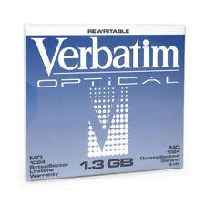 Verbatim Optical MO 1 3 GB Rewritable 1024 Bytes/sector Recorder #89109 Vbr5e4
