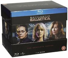 "BATTLESTAR GALACTICA COMPLETE SERIES COLLECTION BLU-RAY 21 DISC BOX SET RB ""NEW"""