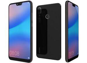 "Huawei P20 Lite Black 5.84"" 64GB 4G LTE Octa Core Sim Free (Unlocked) Smartphone"