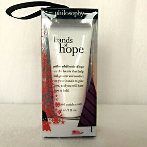Philosophy Hands of Hope Hand & Cuticle Cream 1 ounce NEW