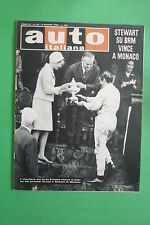 AUTO ITALIANA 22 1966 GP MONACO BOLOGNA-PASSO DELLA RATICOSA CITTA' DI VOLTERRA