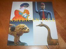 AMERICAN FOLK Art Arts Artists Antiques American Artworks History Book NEW