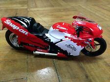 NHRA 1/9 Pro Stock Motorcycle Suzuki TL-1000 2007 Snap-on Tools - Steve Johnson