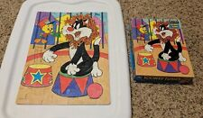 1990 Looney Tunes Puzzle - Sylvester and Tweety 63 piece