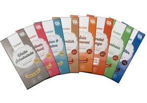 Xylit Schokolade von Xucker - zuckerreduziert - Xylit als Zuckerersatz