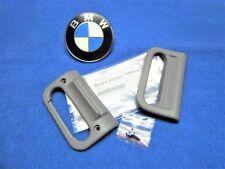 BMW e34 5er Griff NEU Laderaumabdeckung Sichtschutzrollo Rollo grau gray 8159597