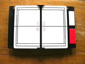 Jobo Varioformat 8 x10 Darkroom Enlarging Printing Easel