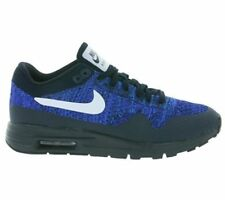 NIB NIKE Womens 7.5 AIR MAX 1 ULTRA FLYKNIT 843387 401 BLUE RUNNING SHOES $160
