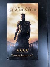 Gladiator (Vhs, 2000) Russell Crowe New Sealed
