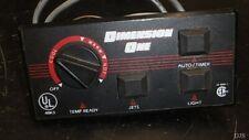 Ramco Spa control Panel Dimension One Hot Tub Dj61