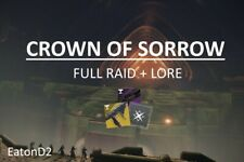 Crown of Sorrow (Full Raid + Lore Pieces) [PC]
