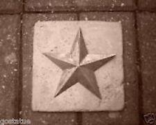 Gostatue MOLD plaster cement star plastic travertine tile mold