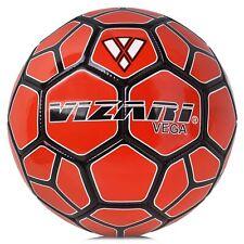 Vizari Mens Vega Team Soccer Ball 91717 Red/Blk Sz 5