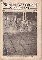 1919 Scientific American Supp December 20 - Japan Steel;  Kudzu; Airplane wings