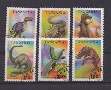 Briefmarken: Lot Briefmarken Tansania (Tanzania), Motiv: DINOSAURIER