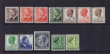 Australian Pre-Decimal Stamps 1951-52 KGV1 Definitives Set 12 MNH