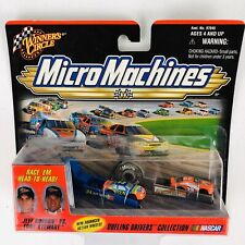 Micro Machines Winners Circle NASCAR Jeff Gordon vs Tony Stewart Dueling Driver