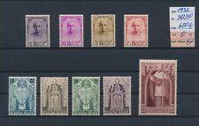 LL99543 Belgium 1932 cardinal Mercier fine lot MH cv 600 EUR