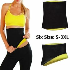 Neoprene Body Shaper Slimming Waist Belts Thermo Sweat Hot Trainer Cincher Yoga 3xl