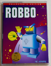 ROBBO for Atari XL/XE, LK AVALON, Collector's Disk version, brand new