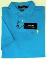 Polo Ralph Lauren Short Sleeve Classic Fit Shirt Mens Blue Mesh NEW $89
