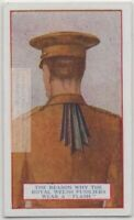 Why Welsh Fusiliers Wear Ribbon Tunic Flash Army Dress 90+  Y/O Trade Ad Card