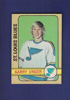 Garry Unger 1972-73 O-PEE-CHEE OPC Hockey #120 (EXMT) St. Louis Blues