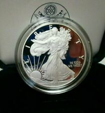 2010-W PROOF SILVER AMERICAN EAGLE COIN WITH BOX & COA