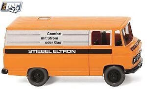 "Wiking 027056, Kastenwagen MB L 406, ""Stiebel Eltron"", MC, limitiert, NEU, OVP"