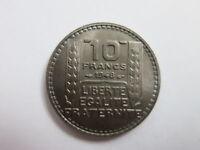 FRANCE 10 francs 1948 BU UNC