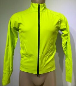 New Pearl Izumi Men PRO AmFIB Shell Triple-Layer Cycling Jacket Windproof Lime