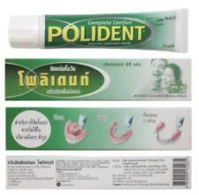 Cream Polident GlueDenture Adhesive Comfort 60 Fresh Original Secure Oral Care